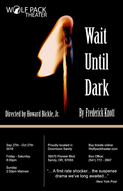 Wolfpack Theather   Professional Live Theater in Sandy, OR